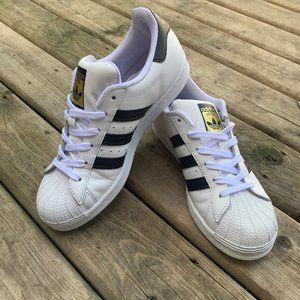 Ladies Adidas Originals Superstar Shoes Size 7.5